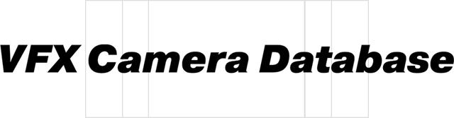 VFX Camera Database